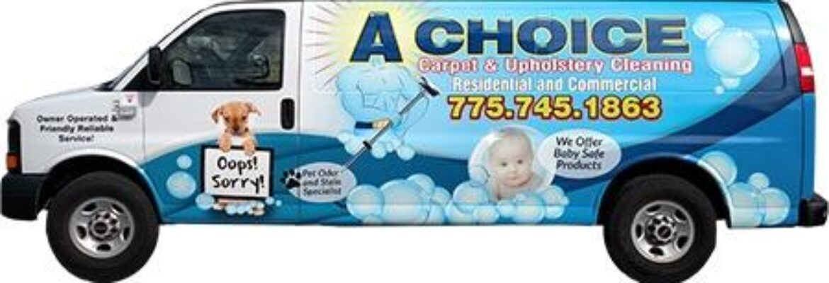 A Choice Carpet & Upholstery Cleaning